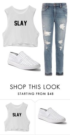 """""""#280"""" by blackwidow3 on Polyvore featuring Steve Madden and Joe's Jeans"""