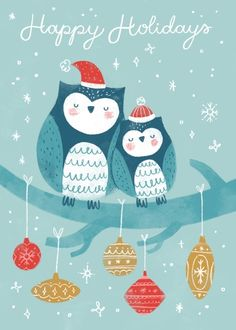 Christmas Owls, Christmas Crafts, Christmas Ornaments, Christmas Things, Xmas, Merry And Bright, Christmas Inspiration, Happy Holidays, Whimsical