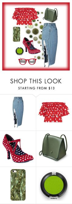 """""""NEW CHIC"""" by amina-kasumovic ❤ liked on Polyvore featuring storets, Caroline Constas, Ruby Shoo and Ray-Ban"""