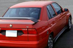 """carsthatnevermadeitetc: """"Alfa Romeo 155 TI.Z, 1993, by Zagato. A limited edition version of the Ercole Spada/IDEA designed 155 modified by Zagato and sold mostly in Japan """""""
