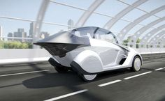 """CHANGING UFO CAR""The Laminar 3 Concept Car Conforms to Changing Driving Conditions trendhunter.com"