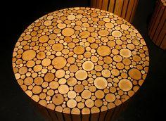 Brent Comber Branch Table by Inhabitat, via Flickr