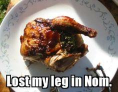 Lost my leg in Nom - Imgur