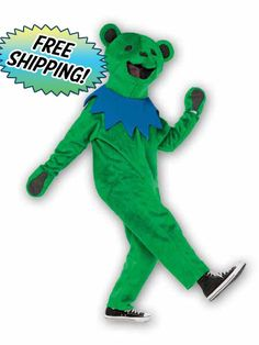OUTFIT - GRATEFUL DEAD DANCING BEAR LARGE/XL OUTFIT