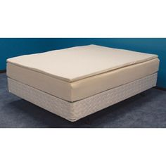Mason Medical Visco Elastic Memory Foam Mattress with Poly Cotton Cover and Fire Barrier Sleeve - 2100-TM
