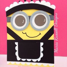 Stampin Up - French Maid Minion - Guest Designer Maria Russell - Post By Demonstrator Brandy Cox