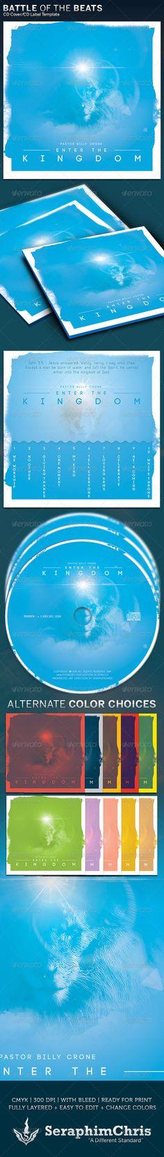 Enter the Kingdom CD Cover Artwork Template