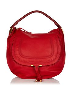 Marcie holly berry leather shoulder bag Sale - Chloé Sale