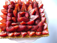 Flaky blood orange tart (recipe) from The Scootabaker | Recipes - Pies ...