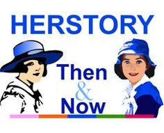 HerStory Then & Now by Girl Guides of Canada, via Flickr