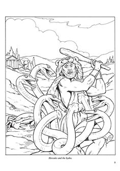 Welcome To Dover Publicatications Adventures Of Hercules Coloring Book