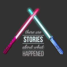 """""""It's True, All of it"""" Photographic Prints by DonCorgi, Star Wars The Force Awakens fan art, inspired design, lightsabers, lightsaber fight, there are stories about what happened, inspirational art"""