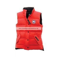 Womens Canada Goose Freestyle Vest Red