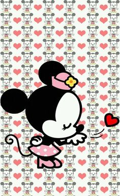 Image via We Heart It https://weheartit.com/entry/145189053/via/22479432 #cute #minniemouse #wallpaper