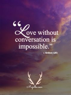 Communication Love Quotes