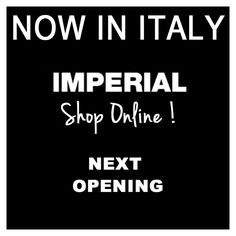 IMPERIAL OFFICIAL SHOP ONLINE | NOW IN ITALY