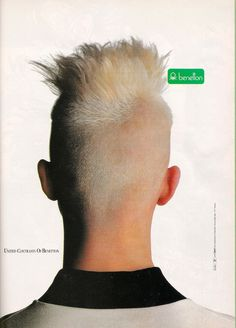 Glossy Sheen: Benetton Ads from the 80's