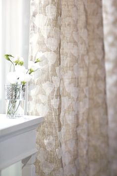 Cirrus by Romo - Fabric avaialble at Surroundings in Mattaposiett, Ma. Textile Design, Fabric Design, Romo Fabrics, Upholstery Fabrics, Conservatory Dining Room, Country Style Curtains, Voile Curtains, Diffused Light, Soft Furnishings