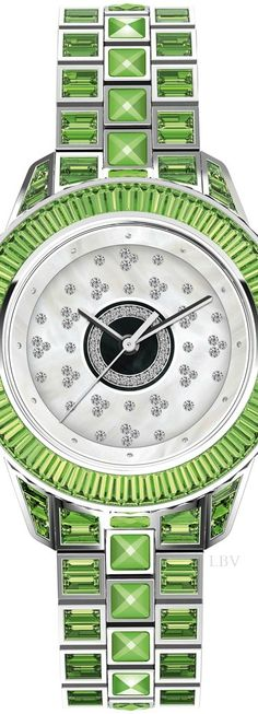 Dior Christal Haute Couture Passage watch   LBV S14 ♥✤