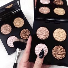 Laura Mercier Illuminator quartet - I love these! It's cool to have all four in a little palette ♥