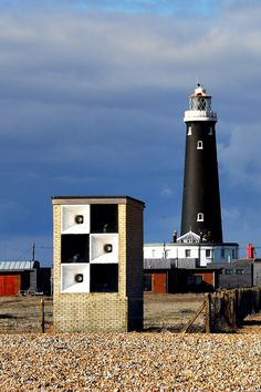 Old Dungeness Lighthouse - Kent, UK by laurel Beacon Lighting, Beacon Of Light, Alexandria, Beacon Tower, Water Tower, Willis Tower, Beautiful Places, Places To Visit, Castle
