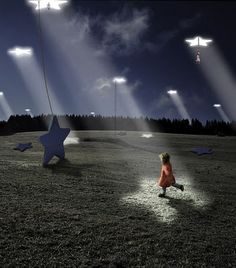The work of Alastair Magnaldo~ His photos are for the ones who see stories all around them, the ones who dream of lying on fluffy clouds or frolicking among the stars, and the ones who wont let their imaginations flicker out like a dying flame. Surreal Photos, Surreal Art, Dream Art, My Dream, Surrealism Photography, Art Photography, Passion Photography, Photo D Art, Photo Manipulation
