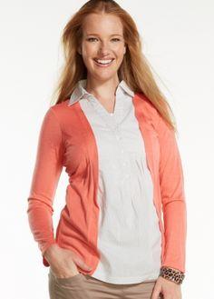 Maternity Cardigan with built-in Nursing Shirt $84.95