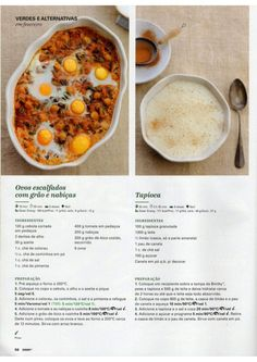 Revista Bimby Fevereiro 2015 Low Fodmap, What To Cook, Chana Masala, Cheeseburger Chowder, Vegetarian Recipes, Food And Drink, Soup, Yummy Food, Meals