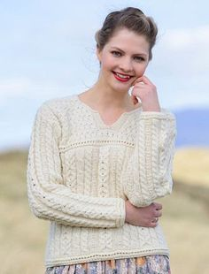 Made from 100% Merino Wool. This is a very stylish button cardigan ...