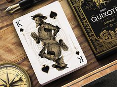 don quixote playing cards cervantes