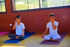 "#Pranayama is #control of #Breath"". ""#Prana"" is Breath or vital energy in the body. On subtle levels prana represents the pranic energy responsible for life or life force, and ""ayama"" means control. So Pranayama is ""Control of Breath"". Various breathing techniques at Nirvana Yoga Sthal: https://yogainrishikesh.in/"