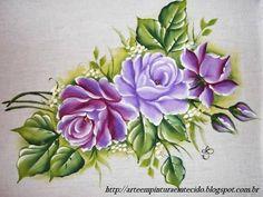 rosas+pintura+em+tecido+lilás.JPG (640×480)