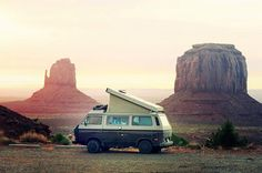 Monument Valley. For my road trip it would be in a truck. But this works too.