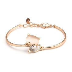 P cord bracelets roxi opal rhinestone crystal cat cute simple chain sweet gift party bracelets #bracelets #hot #topic #bracelets #n #bling #kpop #bracelets #t #bracelets #tiffany