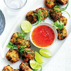 These Thai Fish Cakes by Dave are perfect for lunch and dinner. These Thai Fish Cakes by Dave are perfect for lunch and dinner. Fish Dishes, Seafood Dishes, Fish And Seafood, Seafood Recipes, Cooking Recipes, Whole30 Fish Recipes, Healthy Recipes, Fast Recipes, Thai Fish Cakes