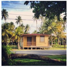 House in Puerto Rico... Reminds me of my Grandpa's childhood house