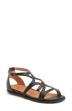 07283740f7 Gentle Souls  Oak  Leather Sandal (Women)
