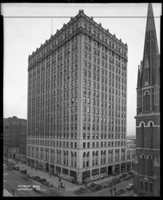 Heyburn bldg.SE corner of 4th and Broadway Streets, Louisville, Kentucky. :: Royal Photo Company Collection