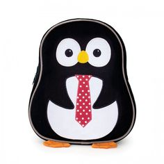 Apple Park Preschool Backpack Penguin