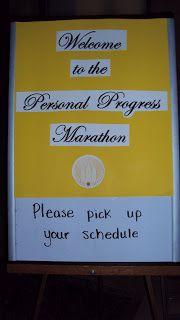 Apples 4 Bookworms: Personal Progress Marathon