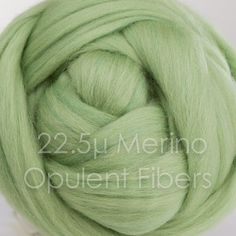 Merino Wool 2oz 45 Sage by OpulentFibers on Etsy