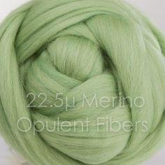 Merino Wool 2oz 45 Sage by OpulentFibers on Etsy
