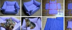 diy pet bed, would love to find some good horse fabric n do this before thanksgiving or Christmas