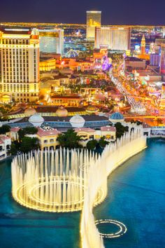 The Las Vegas Strip at night Wall Decal                                                                                                                                                                                 More