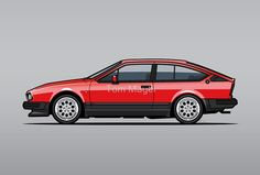 Alfa Romeo GTV6  by Tom Mayer