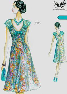 Marfy dress                                                                                                                                                     Más