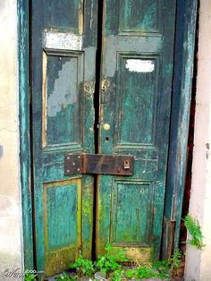 Old Door With Bricks By Perry Webster Opening Doors Pinterest