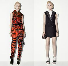 McQ Alexander McQueen 2014 Resort Womens Presentation - Cruise Collection Pre Spring: Designer Denim Jeans Fashion: Season Collections, Runways, Lookbooks and Linesheets