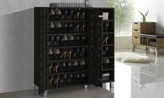 Groupon - Shirley 2-Door Shoe Cabinet with Open Shelves. Groupon deal price: $159.99