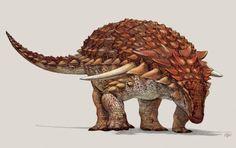 Este es el dinosaurio acorazado mejor conservado del mundo
